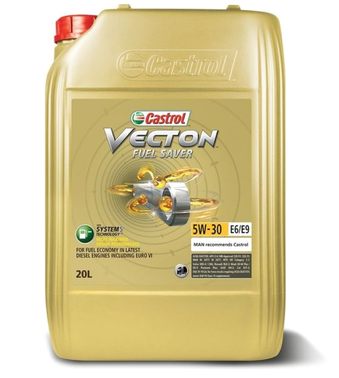 Castrol Vecton Fuel Saver 5W-30 E6/E9, 20л.